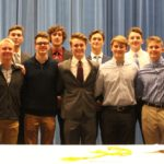15 Post 22 Players Inducted Into National Honor Society