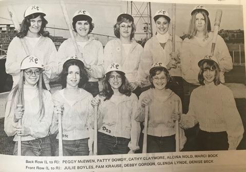 Back Row (L-R) Peggy McEwen, Patty Dowdy, Cathy Claymore, Alcina Nold, marci BockFront Row (L-R): Julie Boyles, Pam Krause, Debby Gordon, Glenda Lynde, Denise Beck