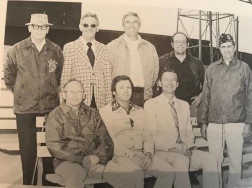 77 Board of Directors Marshall Tubbs, John Ellis, Frosty Paris, Secretary Herb Wolff, Dale SmithPast President Bob Jeske, Ed Naylor, President Lyle Hendrickson