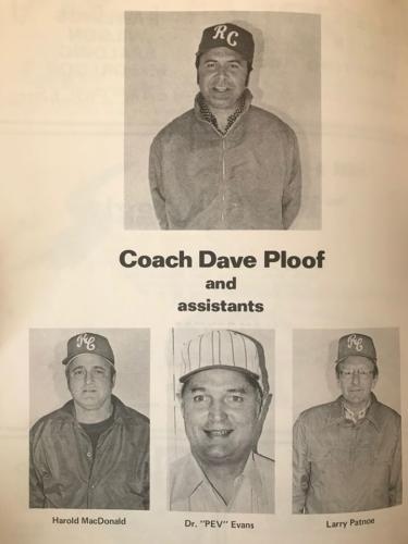 1974 Coaching Staff